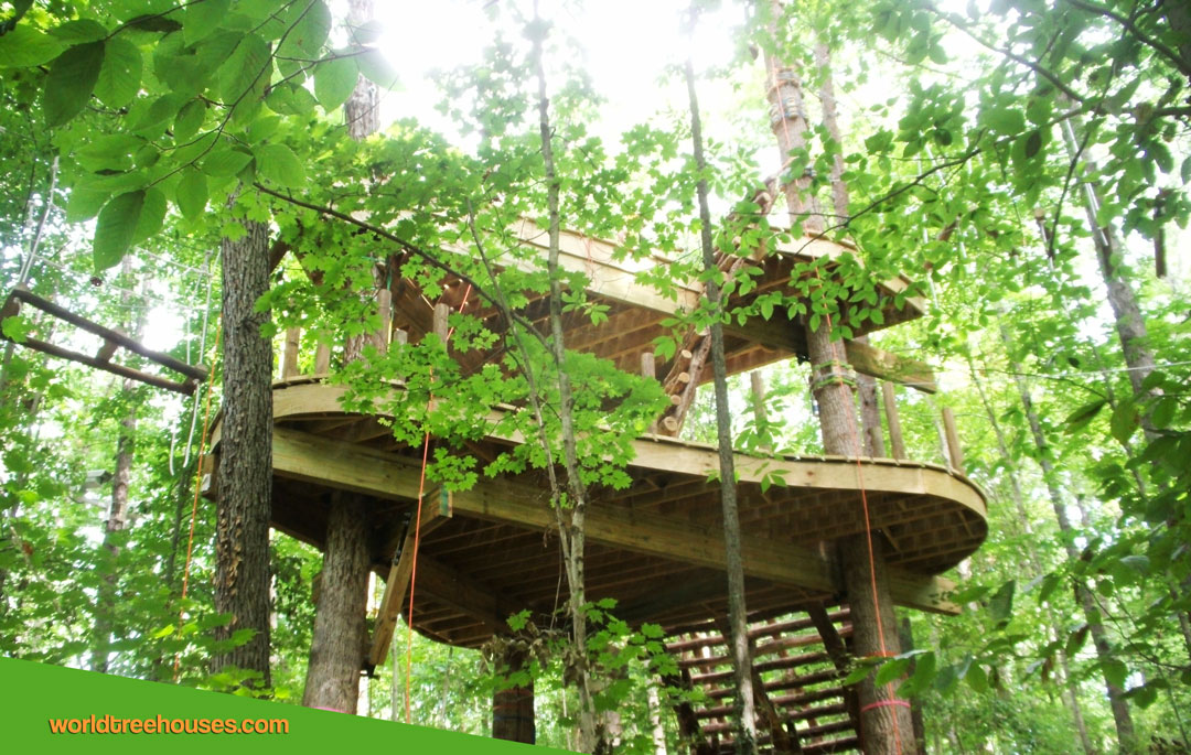 World Treehouses Adam Laufer treehouse TN