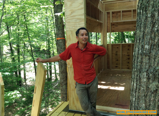 """""""We build treehouses helping to connect people to Nature"""": World Treehouses on TV!"""