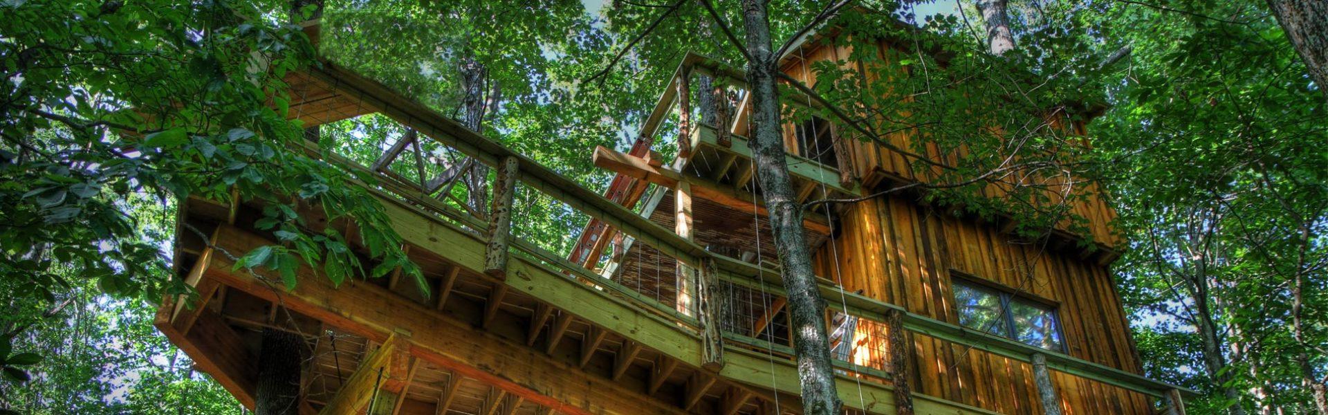 World Treehouses of Asheville NC