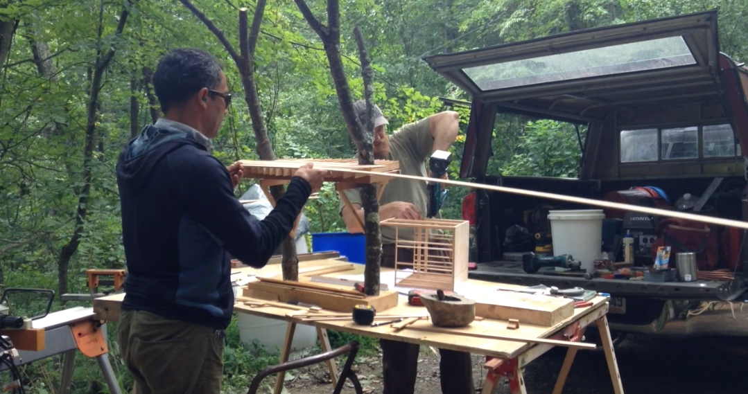 Video: Creating a scaled model is one of the first steps to building the perfect tree house