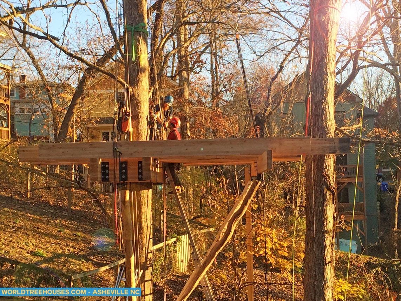 treehouse builder Asheville NC