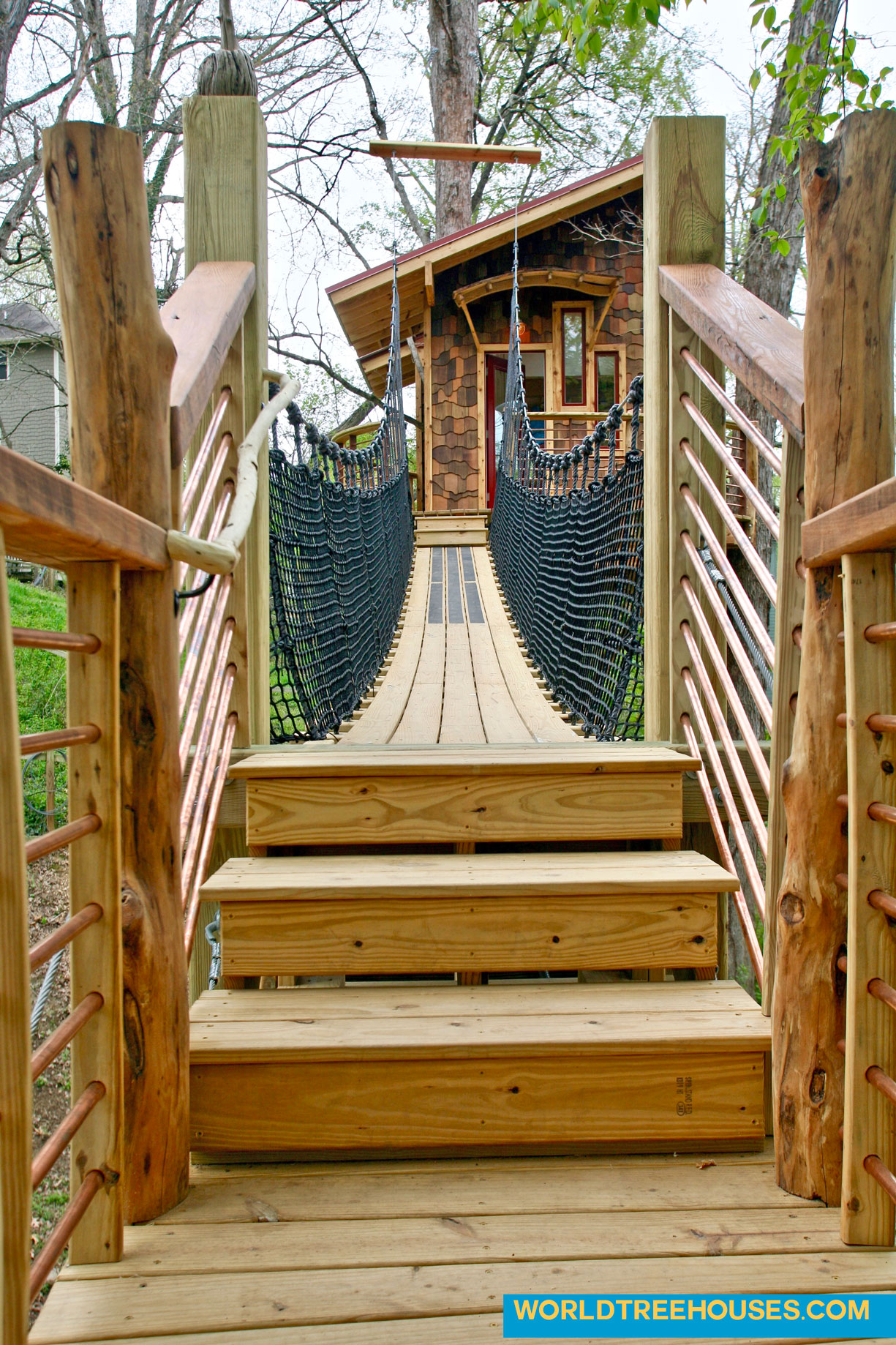 world treehouses bridge 1 asheville nc
