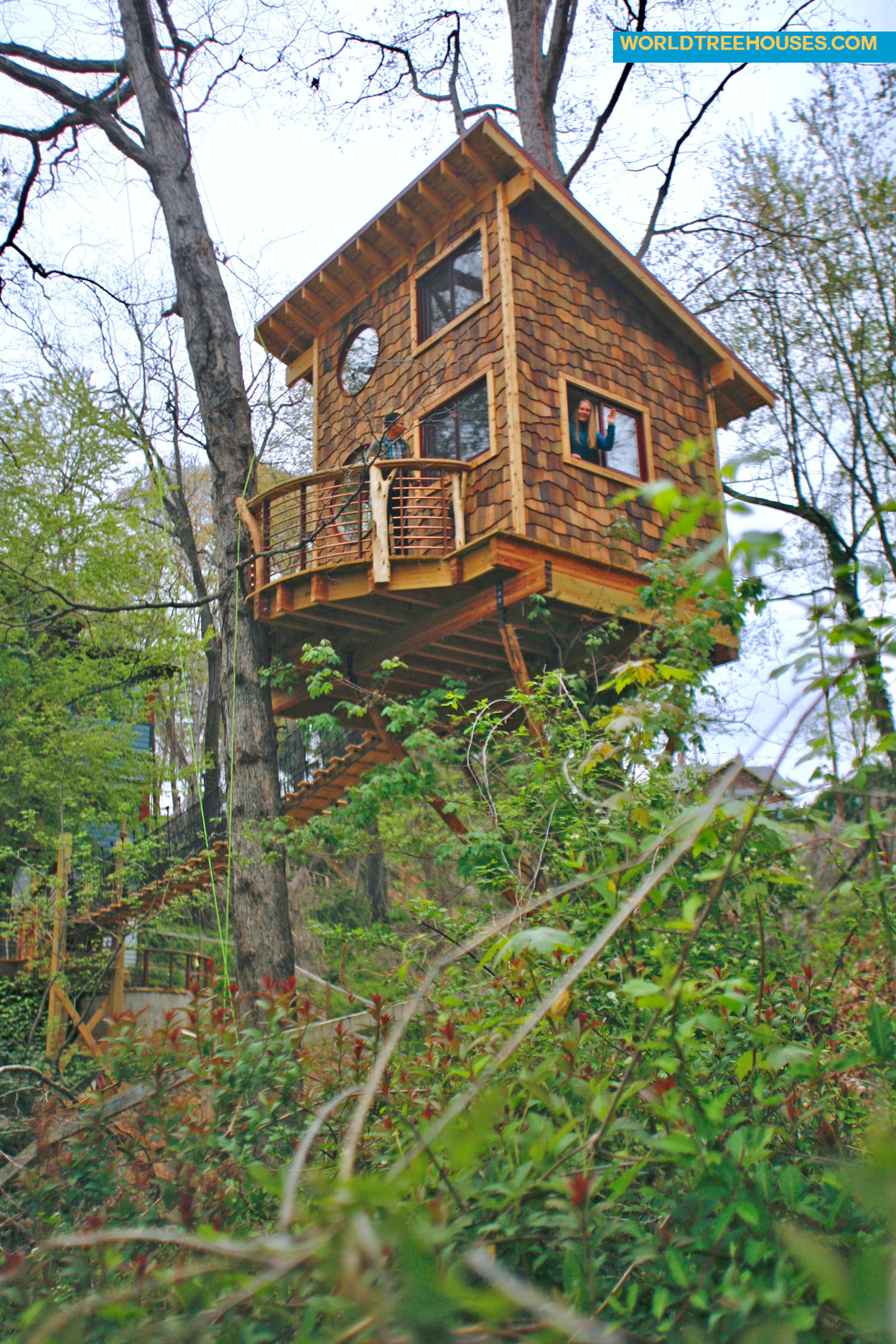 world treehouses asheville tree house ext 2