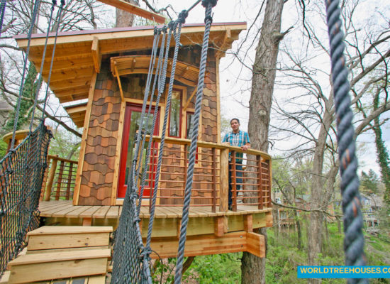 world treehouses asheville western NC tree house ext 1