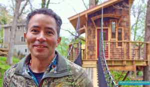Adam-closeup-on--bridge_9521-world-treehouses-asheville-nc