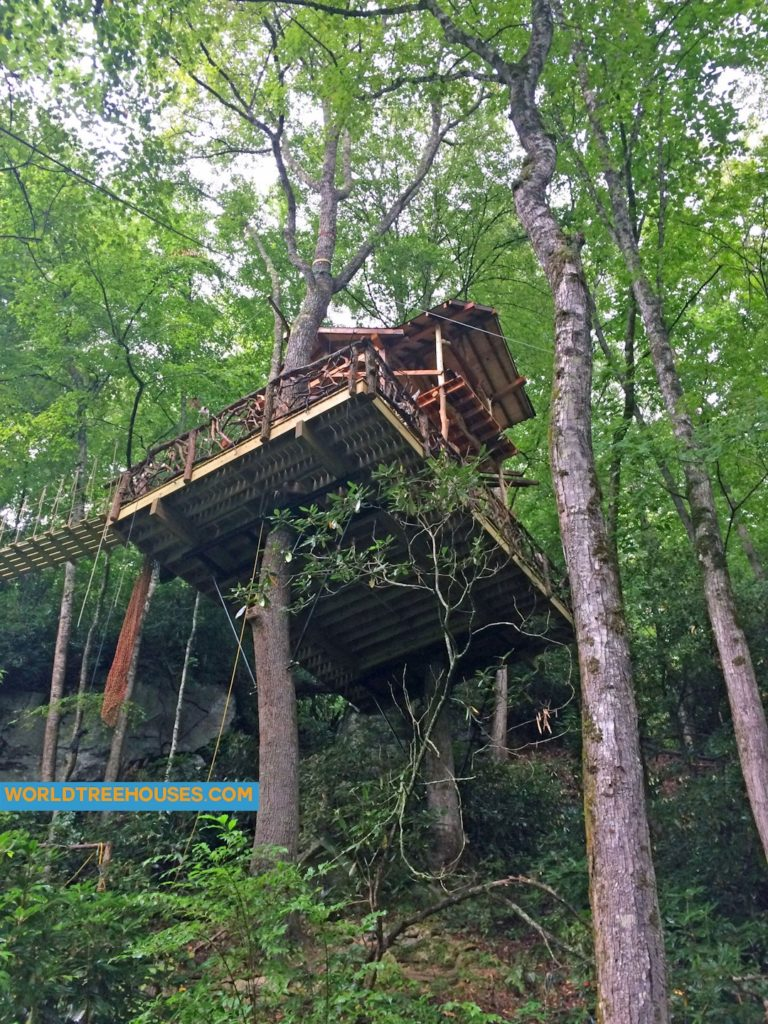WNC tree house builder