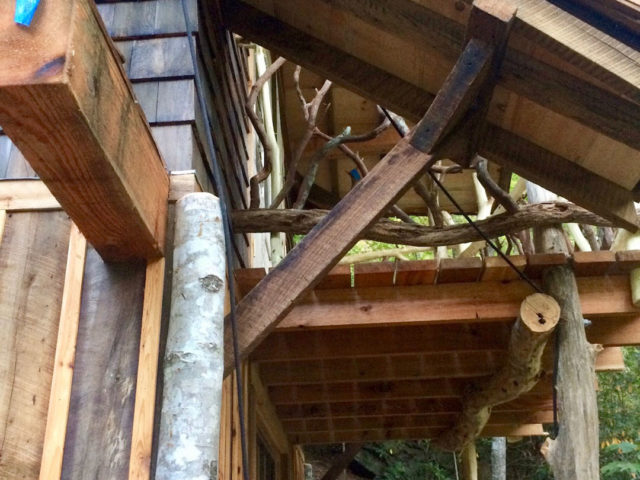 NC treehouse builders : Panthertown Custom Craftsmanship