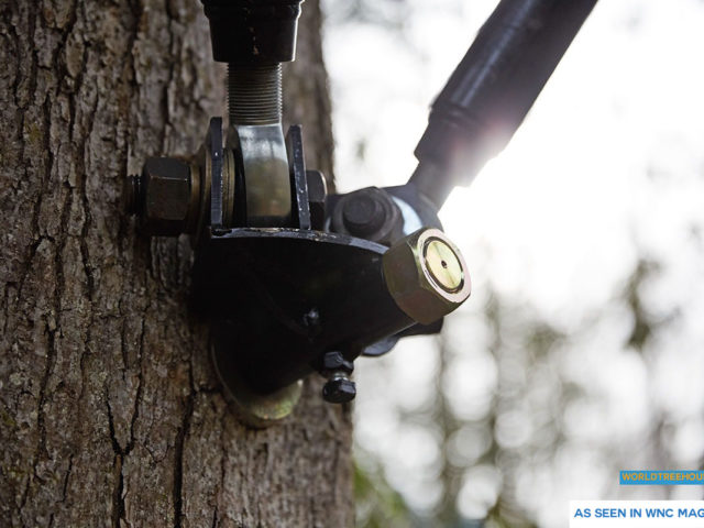 NC treehouse builder: World Treehouses' artificial limbs preserve the health and strength of the trees