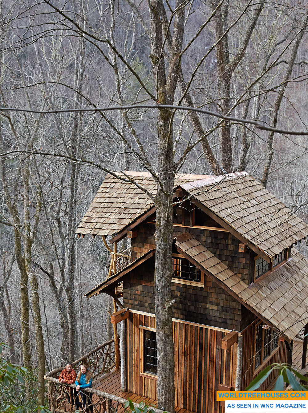 NC tree house builders : A Retreat to Honor the Natural World
