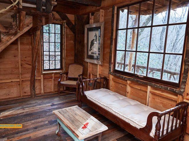 Asheville treehouse builder : Inside the Treehouse, Inside the Trees