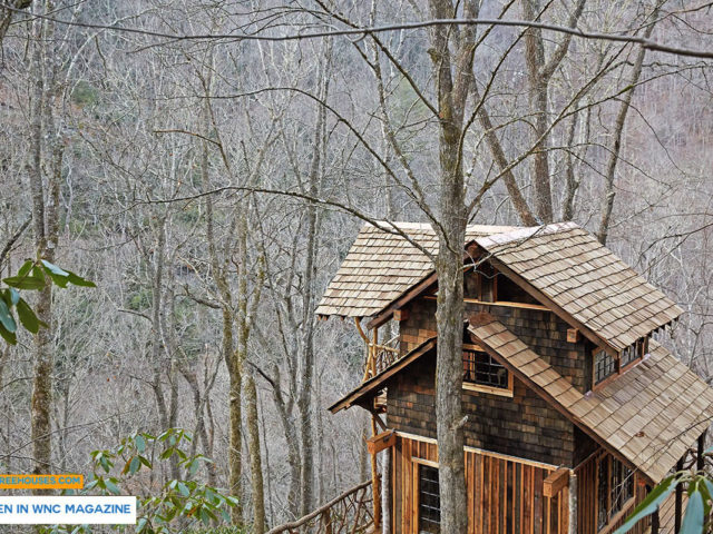 WNC treehouse builder: Treehouse Ode to the Wilderness