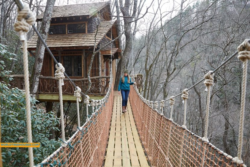 Western NC tree house builder