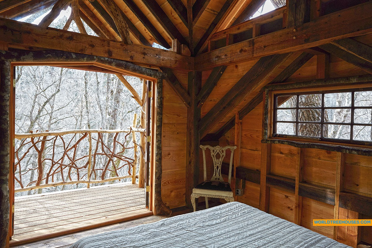 WNC tree house builder : Vintage Forest Paradise