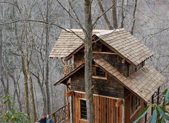 Western NC tree house builder