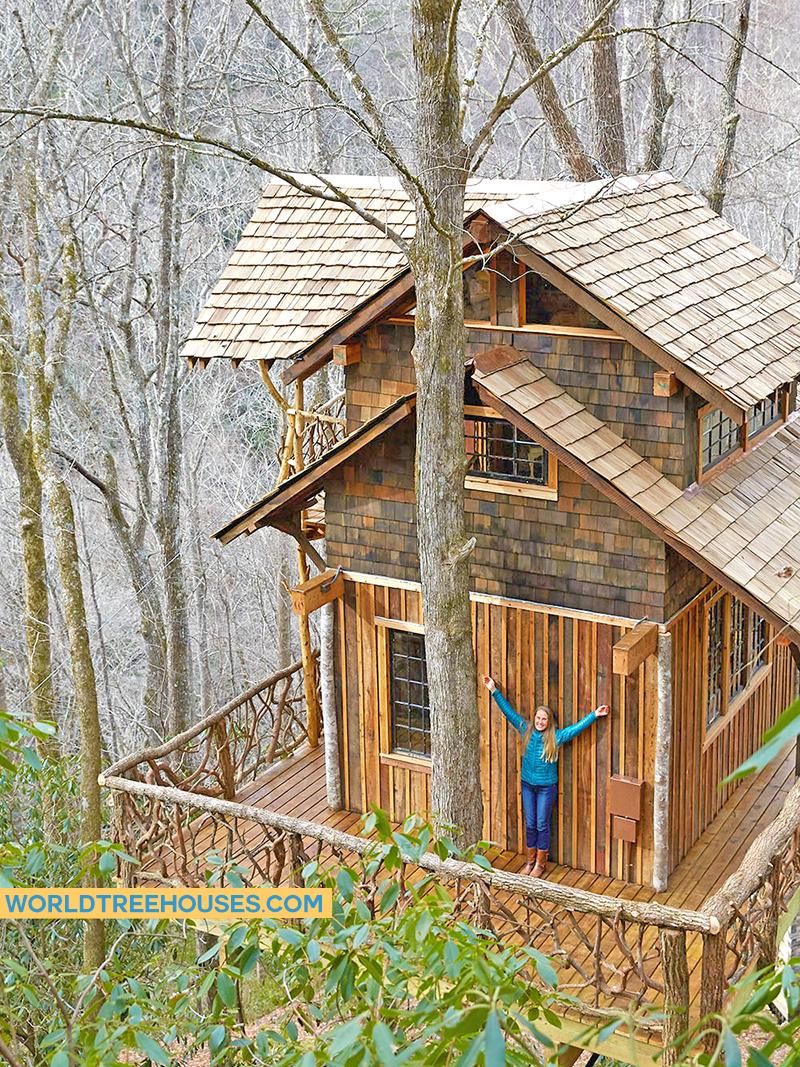 WNC tree house builder