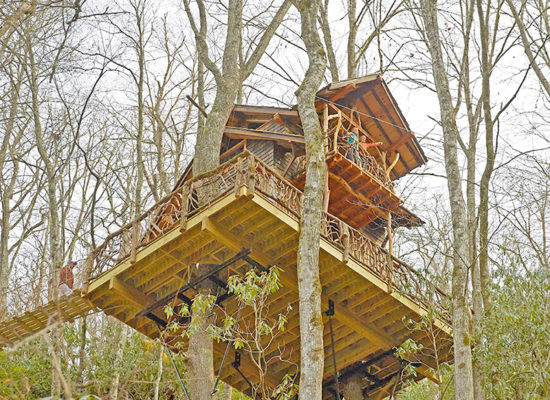 asheville treehouse builder
