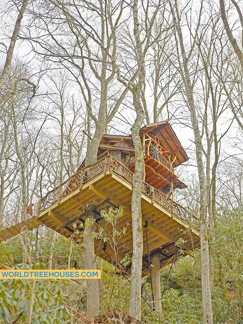 asheville treehouse builder