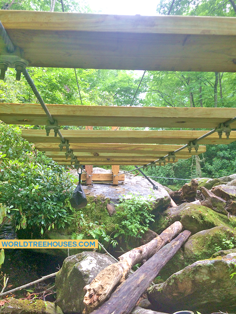 WorldTreehouses new bridge