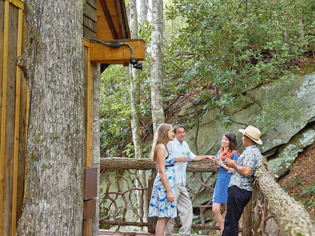 WNC treehouse builders: Panthertown Treehouse: Everyone will want to visit your treehouse!