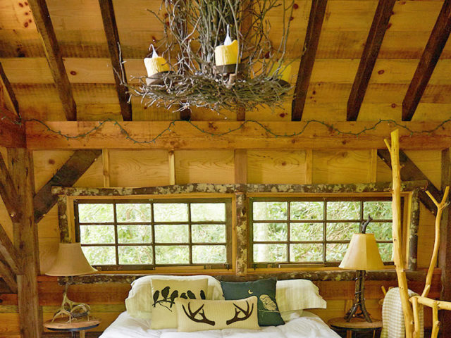 WNC treehouse builders: Panthertown Treehouse: A treetop world away from it all!