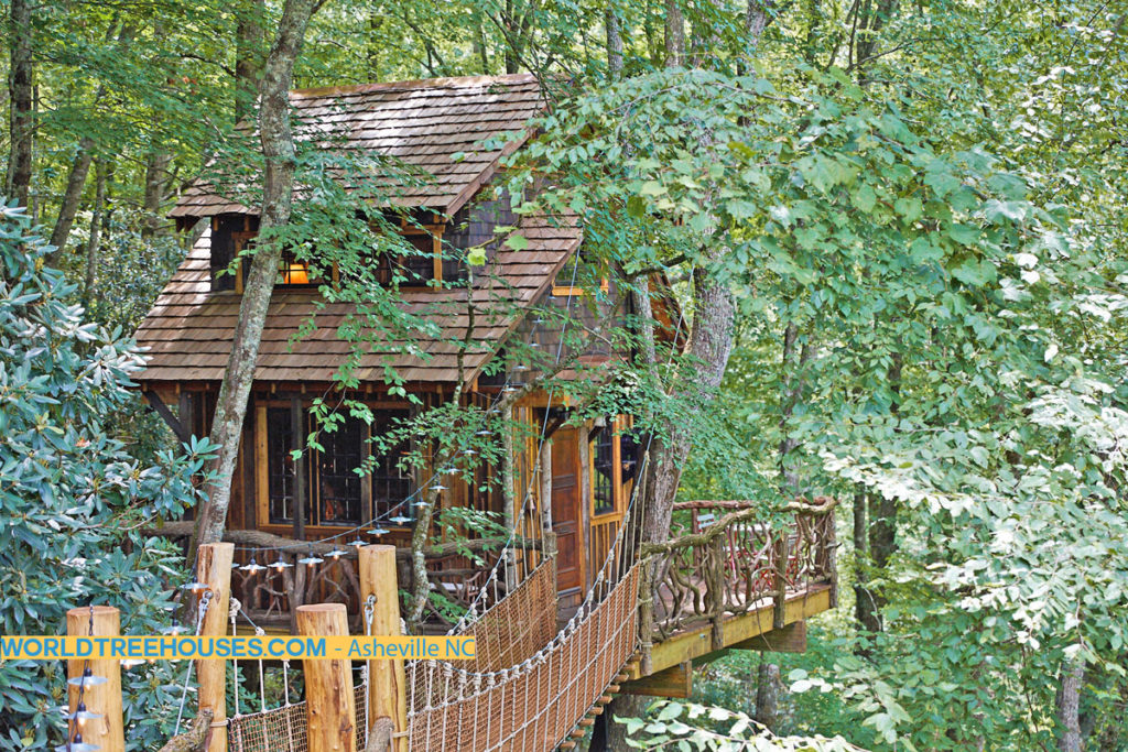 western NC treehouse builder