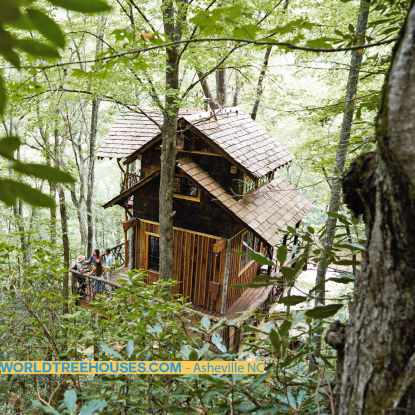 asheville nc tree house builders