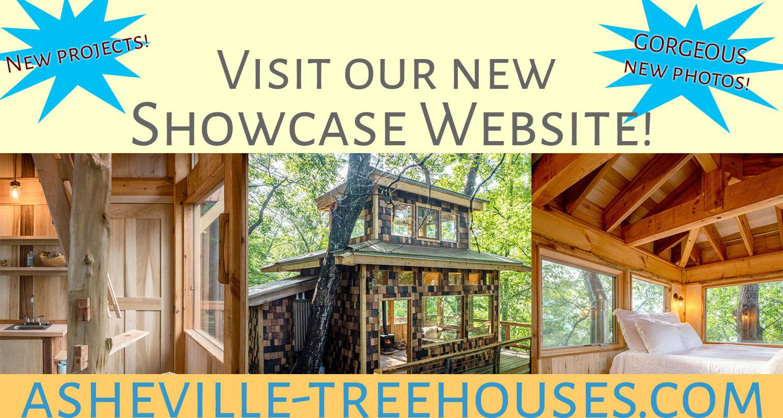 asheville treehouses